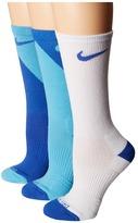 Nike Cushion Graphic Crew Training Socks 3-Pair Pack Women's Crew Cut Socks Shoes