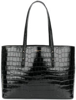 Aspinal of London crocodile embossed tote - women - Leather - One Size