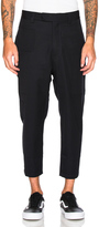 Oamc Cropped Patch Pants