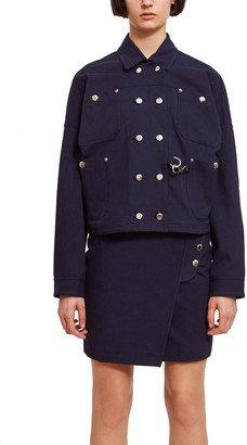 Opening Ceremony Snap Boxy Jacket