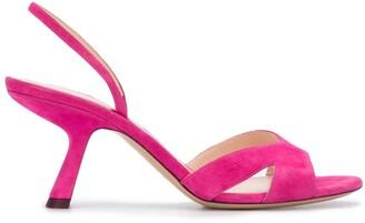 Nicholas Kirkwood LEXI slingback sandals 70mm
