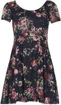 Izabel London *Izabel London Navy Round Neck Dress