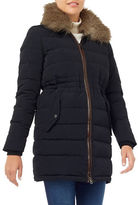 Windsmoor Faux Fur-Collar Down Coat