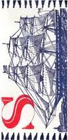 Thomas Paul Sailing Ship Cotton Rug