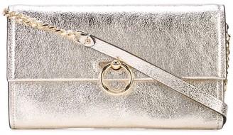 Rebecca Minkoff Crackled Effect Clutch Bag