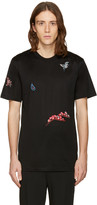 Lanvin Black Patch T-Shirt