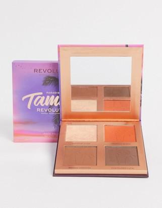 Revolution x Tammi Golden Glow Deep Face Palette