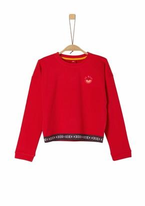 S'Oliver Girls' 66.909.41.2566 Sweatshirt
