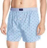 Tommy Hilfiger Men's Micro Flag Print Woven Boxer