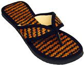 Orange & Black Pandan Flip-Flop