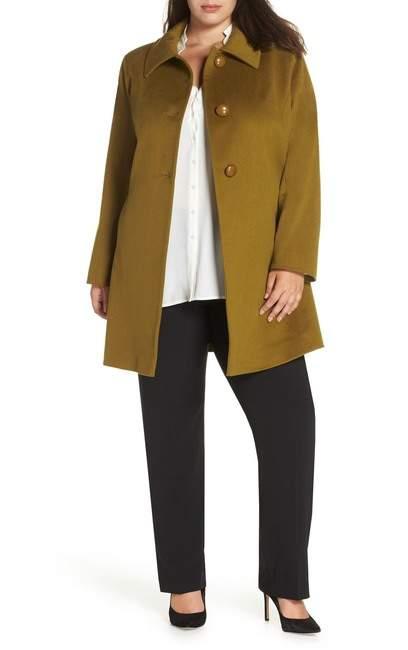 Loro Piana Wool Car Coat (Plus Size)