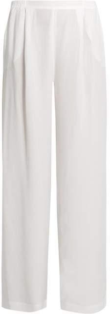 Carine Gilson Silk-satin pyjama trousers