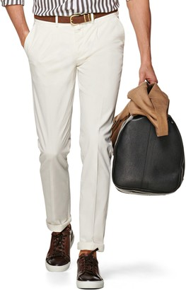 Suitsupply Porto Skinny Fit Stretch Cotton Chinos