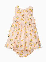 Kate Spade Babies orangerie dress set