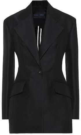 Proenza Schouler Cotton and wool-blend blazer