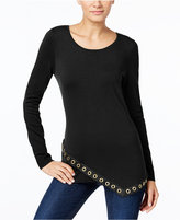 INC International Concepts Embellished Asymmetrical Sweater, Only at Macy's