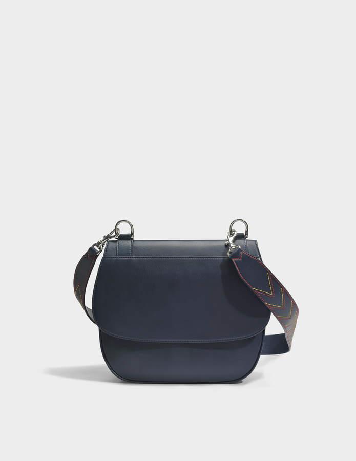 Gerard Darel You Hobo Bag in Navy Leather