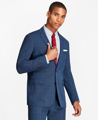 Brooks Brothers Plaid Wool Suit Jacket
