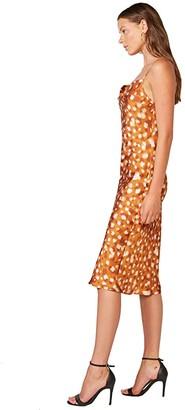 Bardot Printed Slip Dress (Sketch Spot) Women's Clothing