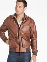 Lucky Brand Northridge Leather Bomber Jacket