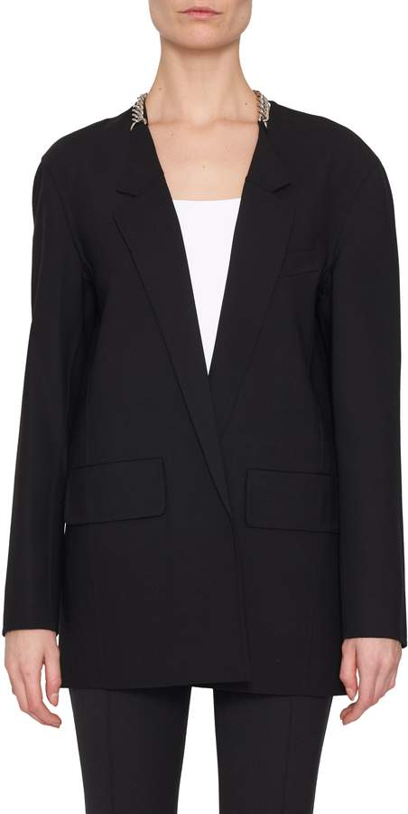 Alexander Wang Chain Back Suit Jacket