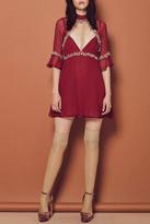 For Love & Lemons Lillie Mini Dress