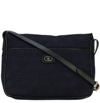 Emilio Pucci Pre Owned Monogram Logo Shoulder Bag