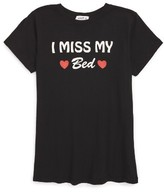 Wildfox Couture Girl's I Miss My Bed Graphic Tee