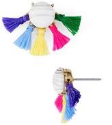 BaubleBar Lourdes Tassel Stud Earrings