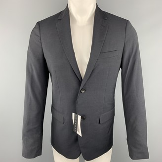 Theory Navy Wool Suits