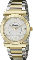 Salvatore Ferragamo Men's FI0970014 Vega Two-Tone/Silver Stainless Steel Watch