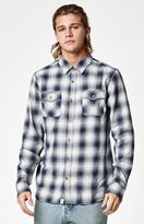 Vans Monterey Plaid Flannel Long Sleeve Button Up Shirt