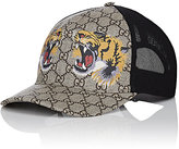 Gucci Men's Roaring Tigers & Logo-Print Trucker Hat-BEIGE, TAN