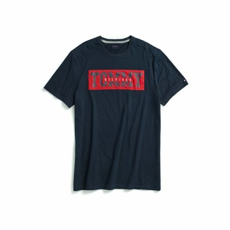 Tommy Hilfiger Men's Adaptive T Shirt with Adjustable Shoulder Closure