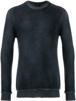 Avant Toi raw edge sweatshirt