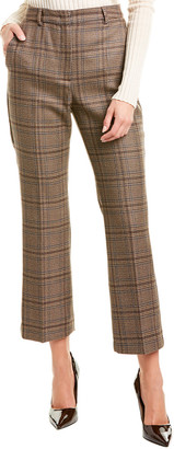 Max Mara Weekend Pantera Silk & Wool-Blend Trouser