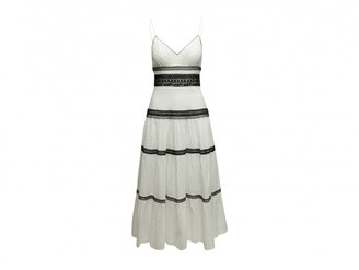 Jill Stuart White Cotton Dresses