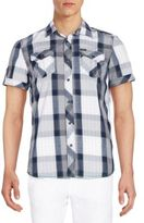 Buffalo David Bitton Sorion Plaid Short Sleeve Shirt