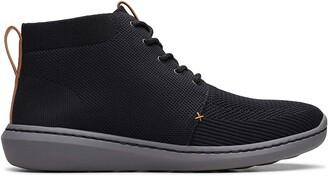 Clarks Mens Ankle Boots Black Size: 10 UK