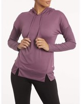 Bally Total Fitness Women's Active Pullover Long Sleeve Ribbed Hoodie