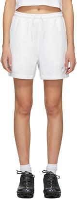 Nike White Jersey Sportswear Shorts