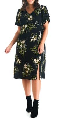 Estelle Night Bouquet Dress