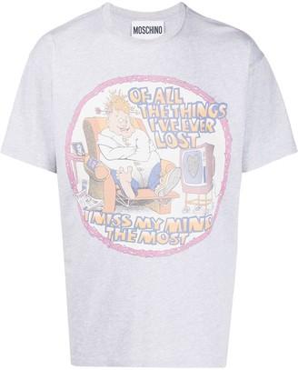 Moschino cartoon print T-shirt