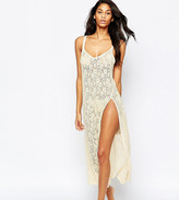 Wolfwhistle Wolf & Whistle Lace Floor Length Slip