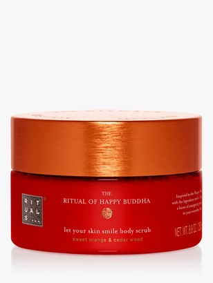 RITUALS The Ritual of Happy Buddha Let Your Skin Smile Body Scrub, 250g