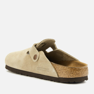 Birkenstock Women's Boston Sfb Suede Mules