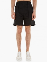 Valentino Black Chino Shorts