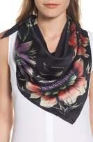 Rebecca Minkoff Women's Floral Square Silk Scarf