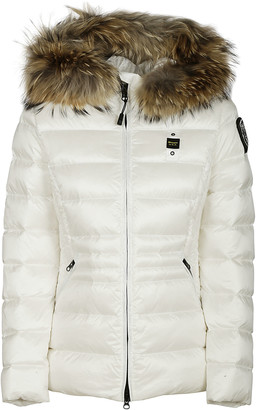 Blauer Stand-up Collar Padded Jacket