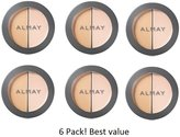 Almay (pack of 6 Smart Shade CC Concealer + Brightener, 200 Light/Medium, 0.12 oz by